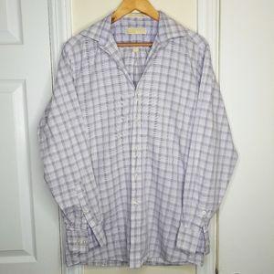 Michael Kors 100% Cotton Men's Button Down